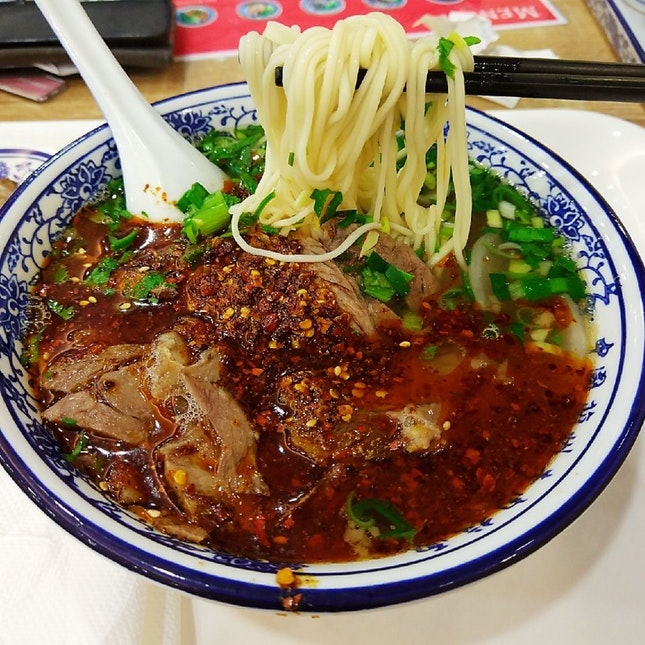 For Hand-Pulled Beef Noodles