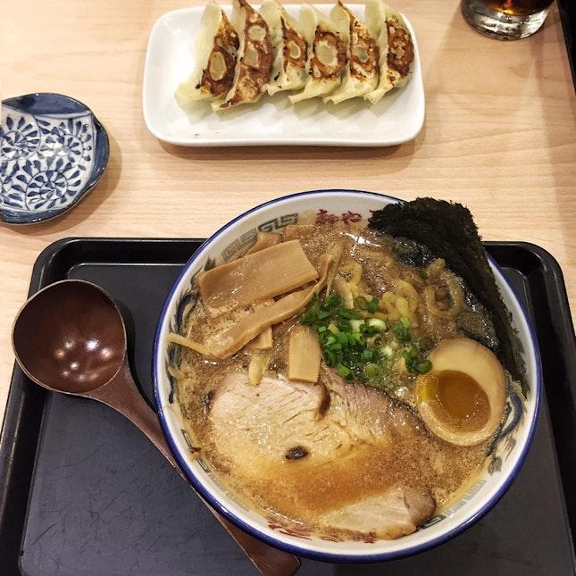 For Hearty Hokkaido-Style Pork Ramen