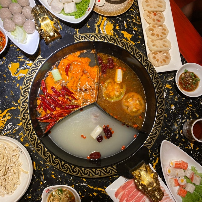 For Spicy Hotpot with Friends
