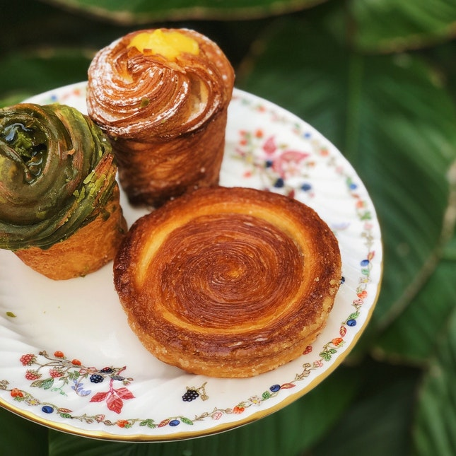 For Pastries Made With Japanese Techniques