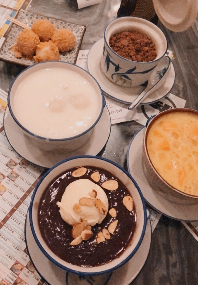 For Traditional Chinese Desserts
