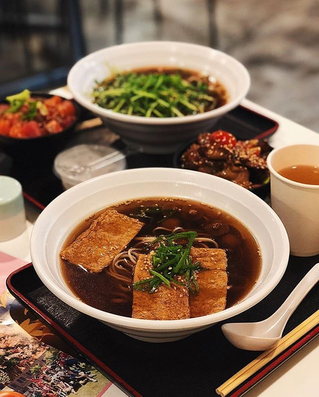 [Healthy Soba IKI] • • Yearning for something soupy, healthy, and delicious?