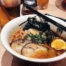 [Menya Musashi] • Spicy cha su ramen set ($13.90+) for you?