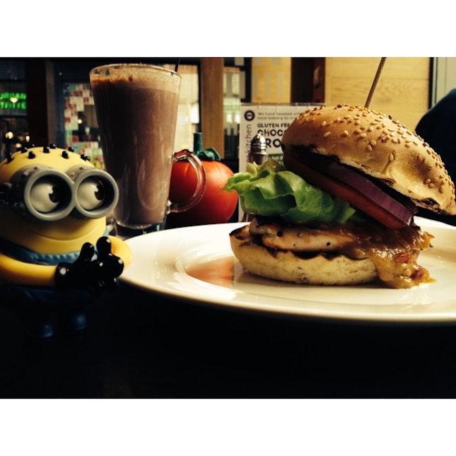 Satay Burger!