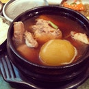 #burpple | #korean #chicken #stew that has that Japanese sweet mirin taste.