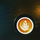 #burpple | serious cup of #latte to wake up our senses.