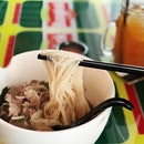 Beef Noodles lunch set from #bangkokjamsg.