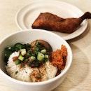 Drumstick Braised Pork rice .