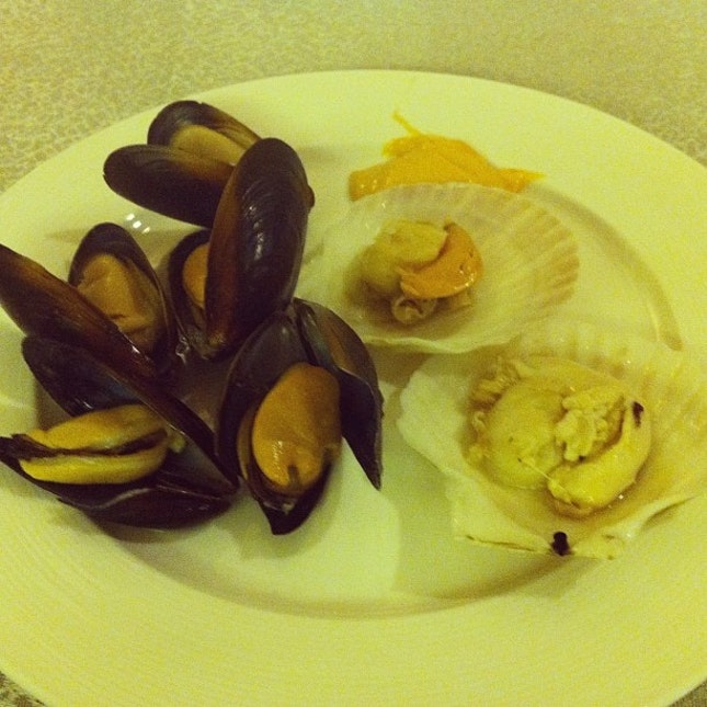 first dish!