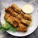 This Salad You Tiao looks invigorating both on the menu and the palate!