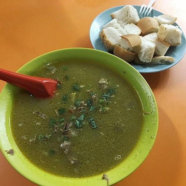 Some Kambing Soup from Haji M.