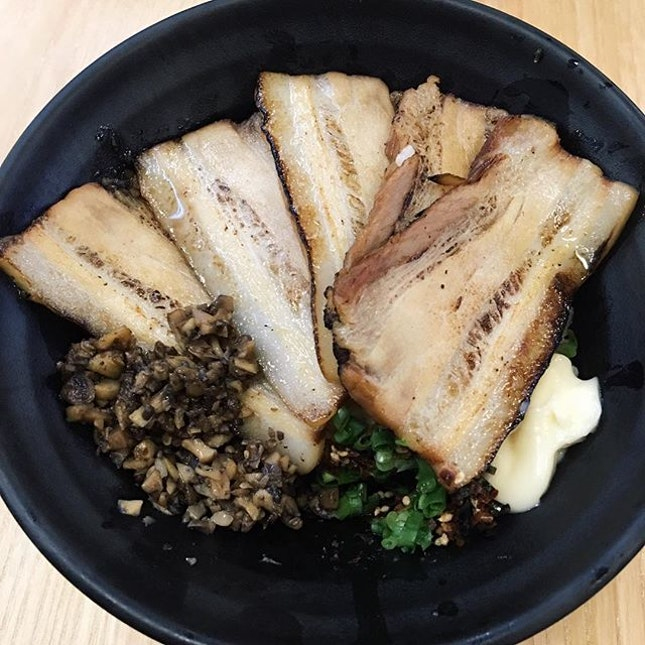 There is always a Don option in a ramen place like this Chashu Donburi if ramen is not your cup of tea.