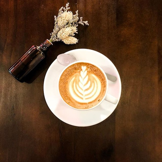 Flat White  Made using Guatemala single origin beans, the coffee carried a fruity note, while having a full-bodied and robust taste!