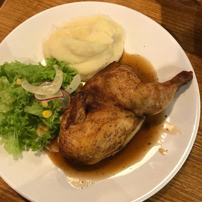 Arôme: Half Baby Chicken