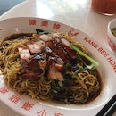 Char Siew + Roasted Pork Belly Noodles (RM8.50)