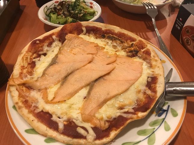 Salmon Pizza ($7.90)
