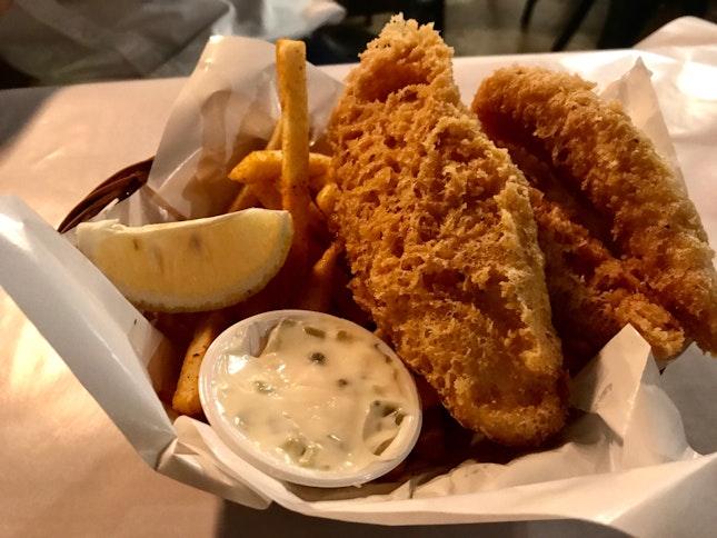 Signature Fish & Chips ($12.90)