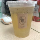 Lemongrass Kombucha with White Pearls (+$0.80)