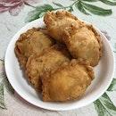 Chicken Egg Curry Puffs