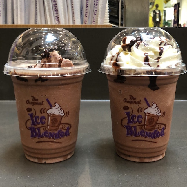 Chocolate Cookie Ice Blended