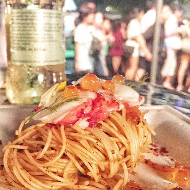 Angel Hair Lobster Pasta from Team Saveur in Savour 2016!