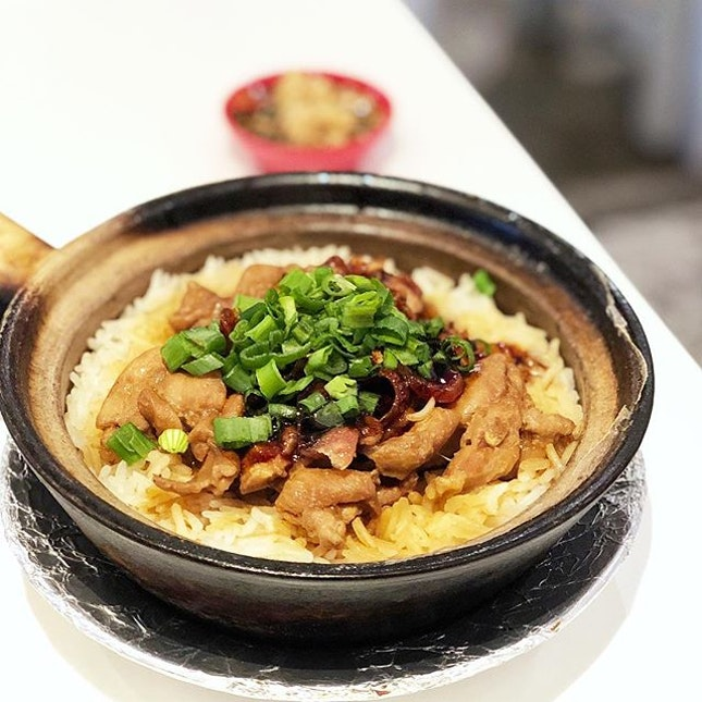 After a long shopping day in Robinsons, I went to Malaysia Boleh for delicious Claypot chicken rice!