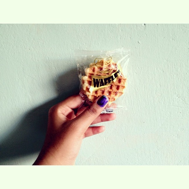 Waffle biscuits is da best👌😋 #waffles #biscuits #yummy #food #foodporn #nail #instadaily #instagrammer