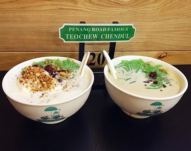 One doesn't leaves Penang without having a bowl of their famous Teochew Chendol!