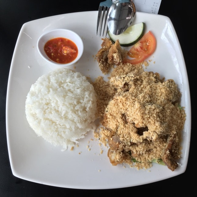 Cereal Chicken With Rice Set