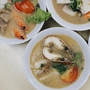 the folks at @shunfengcrayfish promise affordable seafood soup at less than $12!