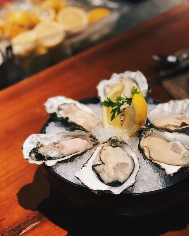 sick oysters.