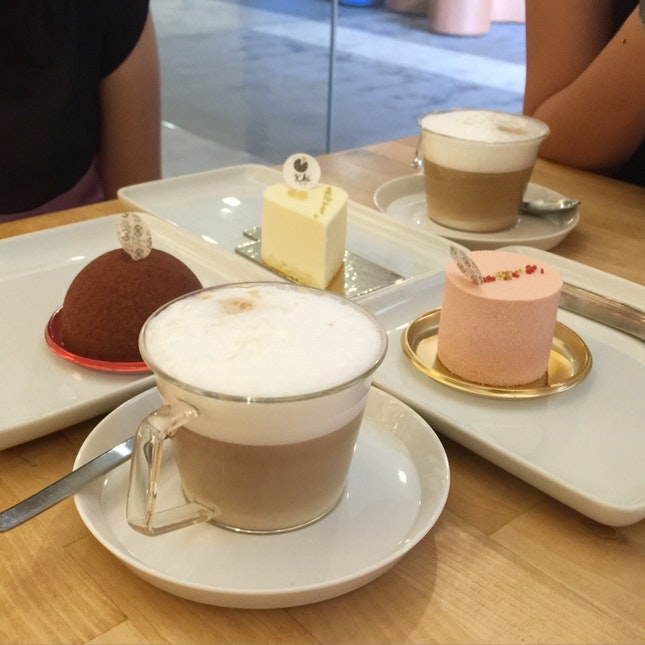 Various Mousse Cakes