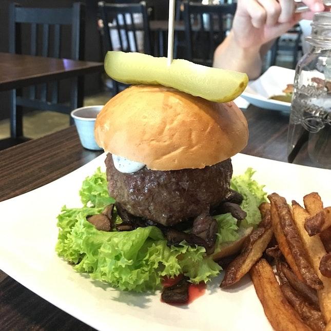 Shroom And Truffle Burger