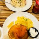 Truffle Creamy Pasta & Salmon Ahumado