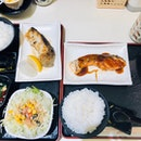 Shioyaki Fish Set & Teriyaki Salmon Set