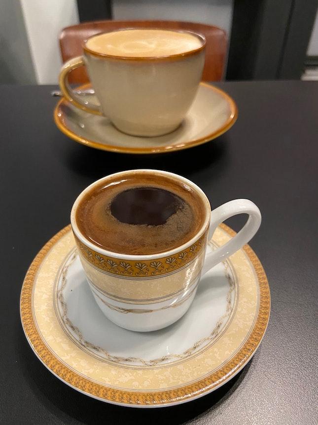 Turkish Coffee & Latte