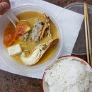 Crayfish Seafood Soup