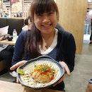12/1/18 ユバ屋 YuBa Hut💯Salmon Aburi Don 14.90 onlyMust try this, damn delicious and soft.