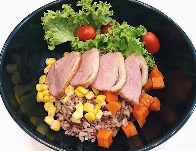 Smoked Duck Rice ($4.80) 🍚🌱.