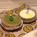 Cheese tart ($3.90)  Matcha cheese tart ($4.20) ⭐️ 4/5 ⭐️ 🍴Opening a new outlet at Holland Village, there is only outdoor seating here but right next door is a cosy air-conditioned space with free seating; but do note that if you takeaway #pablo charges 20c for cutlery 😱.