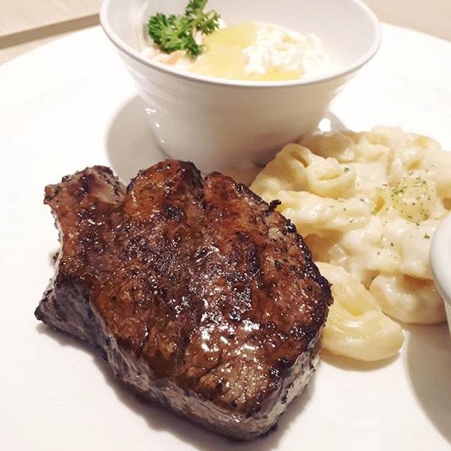 steak craving satisfied, finally.