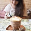 Not my iced mocha  #icheeinbali #revolvercafe #cafehopping #cafehoppingbali #burpple #hidingfromthesun