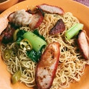 Char siew was nicely charred, noodles had a good springy texture, and wantons were plump and juicy.