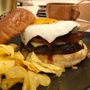 Portobello Beef Burger ($18.90)