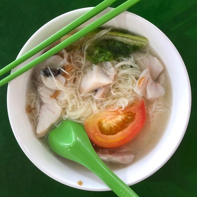 Sliced Fish Mee Sua ($4.50)