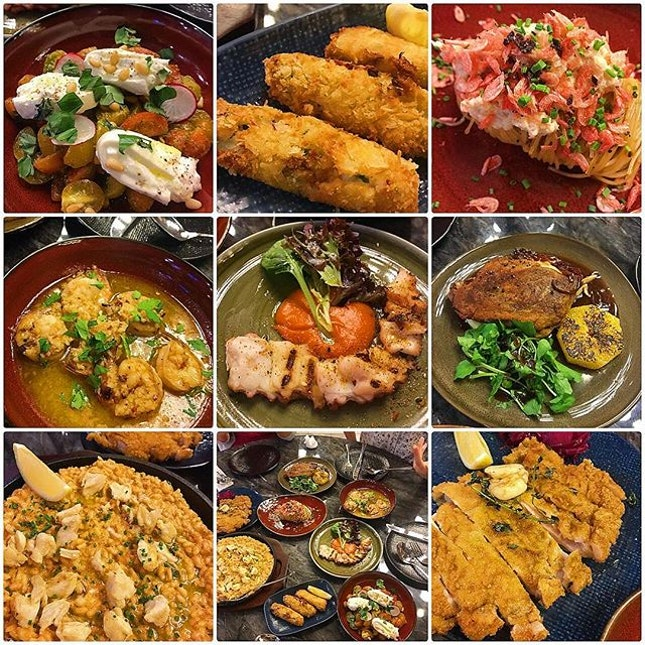 Wonderful tapas of the signature dishes.