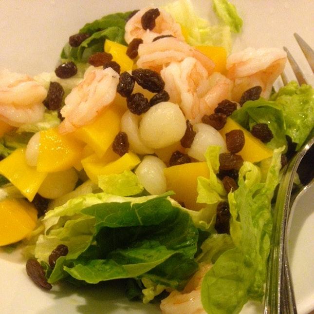 Prawn And Fruit Salad