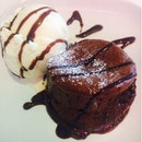 Chocolate Molten Lava Cake With Early Grey Ice Cream ($7.90)