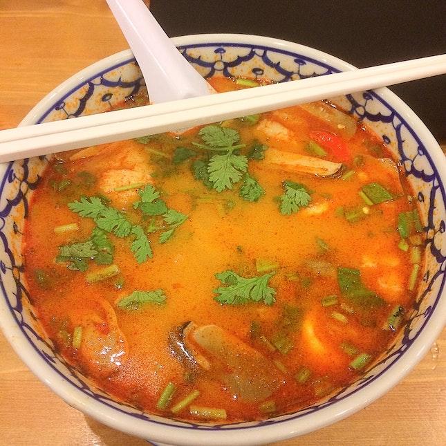 Tom Yum Noodle ($5)