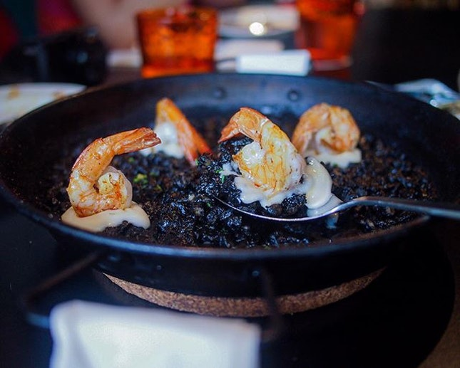 What's going to PIM PAM without trying their paella?